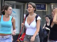BEST OF BREAST - Busty Candid 09