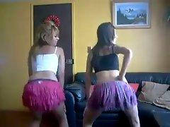 Chicas sexys bailando tikitaka dancing shake booty