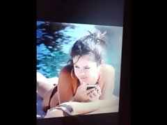 selena bikini cumshot 2