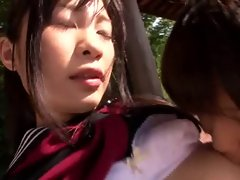Japanese girls kiss1257