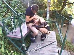 Slut Jamie disciplined