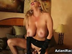 Mom with huge tits loves riding part2