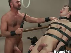 Josh gets bound on chair part2