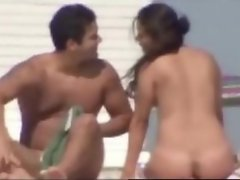 Nude Beach Spy compilation with mature couples