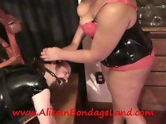 I Love that Look in His Eyes - FemDom StrapOn Threesome BDSM