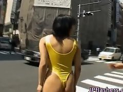 Sweet Asian girl exposes her fine part5