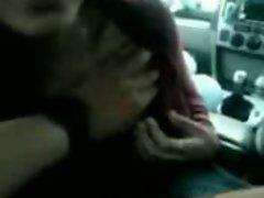 Malay Handjob Inside The Car