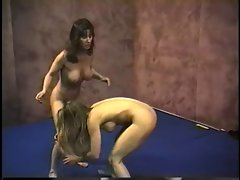 Lesbian wrestling 2