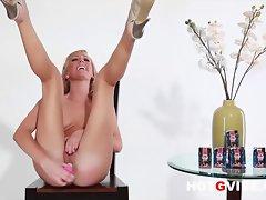 Hot G Vibe Interviews Sexy Blonde Pornstar Brett Rossi