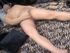 Cocoon Pantyhose Humping Stocking Cumshots X28