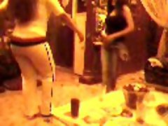 Egyptian horny mom dancing ditry