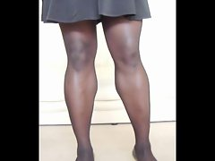 TGirl Mini Skirt &amp, Seams 135