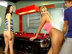 CMNF Bottomless Billiards