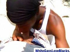 Black thug gets anal pleasure
