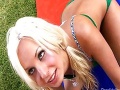 Blonde Teen The Victim Of A Horny MILF