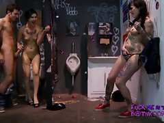 Alt porn gothic hardcore sex with a horny brunette babe