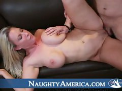 Blonde babe devon lee shows her sweet pussy fuck action