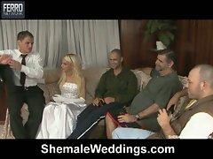 Dany & edu have a wedding and hot honeymoon
