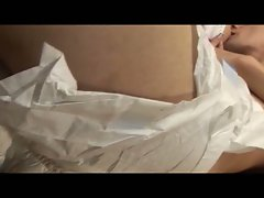 Adult diaper fetish with him getting fucked by strapon