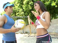Barbie doll mya nichole nichole fucked hard  volleyball coach