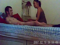 Mature milf 37 years old Thai with White Boy