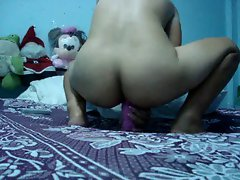 Thai Babe Banging her Pinky Toy