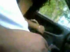 Amateur Indian Car Blow Job