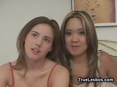 Lesbians Playing with SexToy