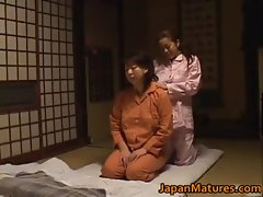 Mature nihonjin honey has lezbo