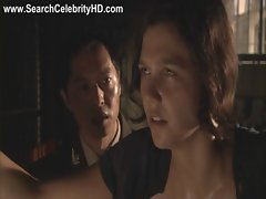 Scene of naked Maggie Gyllenhaal in Strip Search - Uncut