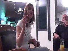 Eva fucked in a threesome