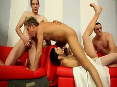 Check bisexual orgy heat up