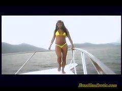 Brazilian babes getting fucked