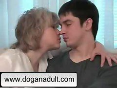 Blonde mom and not her son www.doganadult.com