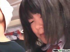 Outdoor Cute Japanese Girl Get Sex clip-16