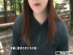 Outdoor Cute Japanese Girl Get Sex clip-09