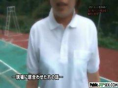 Outdoor Cute Japanese Girl Get Sex clip-12