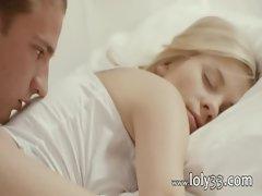 Blonde angel penetrated in hotel hotel