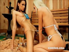 Bikini Barbecue Masturbation Party Celeste Star Sammie Rhodes