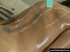 Dirty Masseur - Horny masseuses handobs and get fucked 13