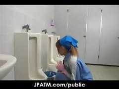 Public Sex in Japan - Asian Teens Exposed Outdoor 05