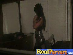 Amateur Teen Girls Get Fucked By Voyeur clip-27