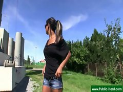 Public Pickups - Nude Czech Girls Get Paid For Public Sex Acts 08