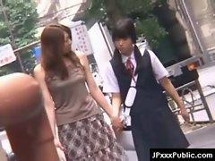 PublicSex in Japan - Asian Teens Exposed Outdoor 11