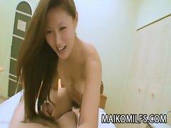 MILF Japanese Nagisa Fukushima gets her pussy attention
