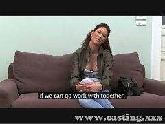 Casting Latino dancer does anal
