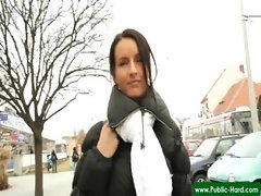 Public Pickups - Nude Czech Girls Get Paid For Public Sex Acts 14