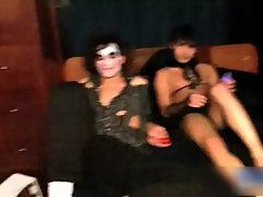 Hot twinks having a costume party porn gay sex