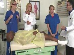 CFNM nurse babes go cock crazy