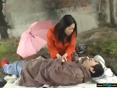 Outdoor Sex Is What Asian Girl Like movie-09